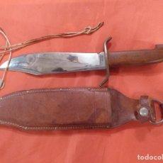Militaria: CUCHILLO BOWIE DE CAZA. Lote 269628413