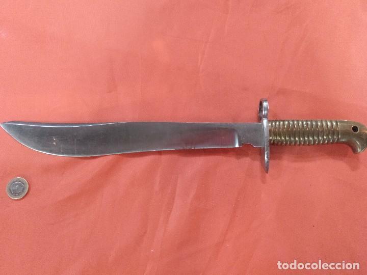 BAYONETA MACHETE ANTIGUA ALEMANA (Militar - Armas Blancas Originales Fabricadas entre 1851 y 1945)