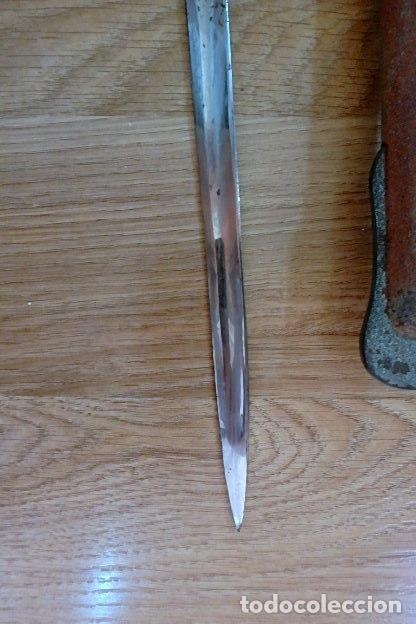 Militaria: (JX-210636)Sable espada Puerto Seguro,mod.1943 para Oficial Ejercito Español,Fabrica de Toledo. - Foto 12 - 269934423