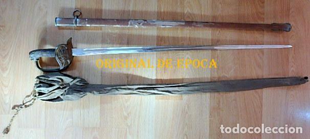 Militaria: (JX-210636)Sable espada Puerto Seguro,mod.1943 para Oficial Ejercito Español,Fabrica de Toledo. - Foto 13 - 269934423