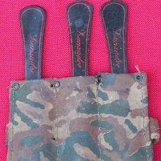 Militaria: CUCHILLOS LANZADORES CON SU FUNDA BRAZALETE.. Lote 272068693