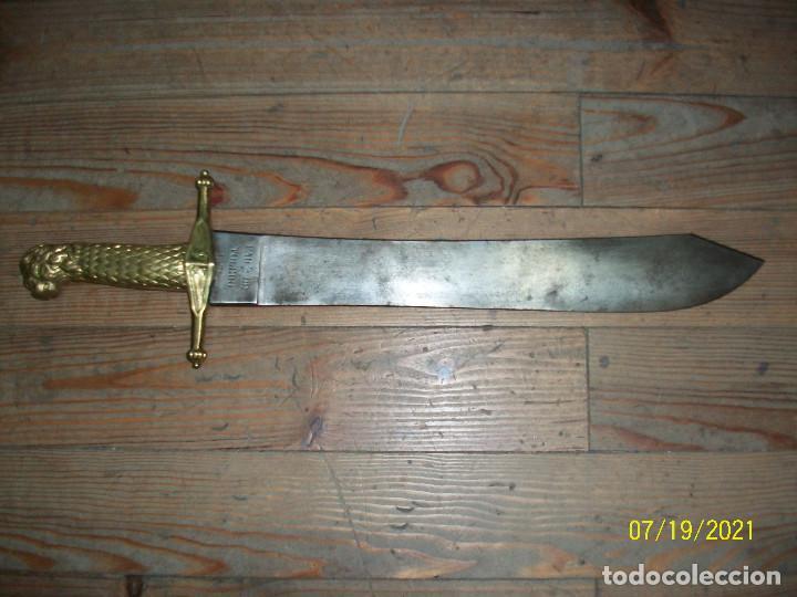MACHETE DE INFANTERIA 1871 (Militar - Armas Blancas Originales Fabricadas entre 1851 y 1945)