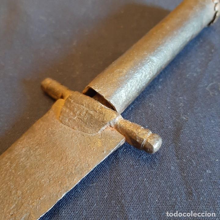 Militaria: Cuchillo español antiguo siglo XVIII - Foto 2 - 278817623