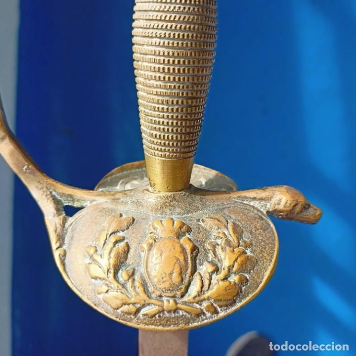 Militaria: Espada de ceñir. Oficial de Infantería. Modelo 1867 - Foto 6 - 279512608