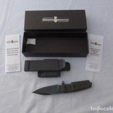 Militaria: * CUCHILLO DE COMBATE TACTICO EXTREMA RATIO, SHRAPNEL OG TESTUDO. ORIGINAL. ZX. Lote 280461593