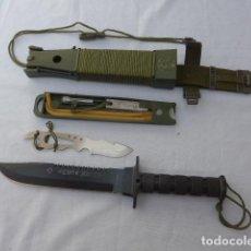 Militaria: * CUCHILLO DE COMBATE TACTICO AITOR JUNGLE KING I. ORIGINAL. ZX. Lote 280462878