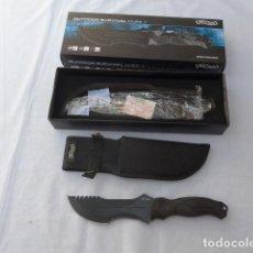 Militaria: * CUCHILLO DE COMBATE TACTICO WALTHER OUTDOOR SURVIVAL KNIFE 1. ORIGINAL. ZX. Lote 280463483