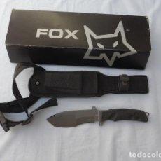 Militaria: * CUCHILLO DE COMBATE TACTICO FOX FX-9CM01B. ORIGINAL. ZX. Lote 283466263