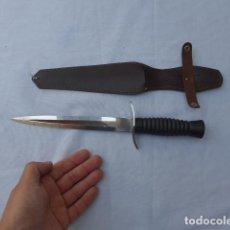 Militaria: * CUCHILLO DE COMBATE TACTICO MUELA TIPO COMANDOS. ORIGINAL. ZX. Lote 283466658