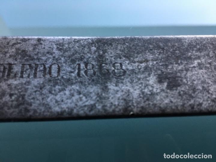 Militaria: Sable Briquet fabrica de Toledo 1868 - Foto 4 - 286347778