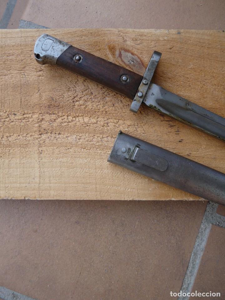 AUSTRIA BAYONETA AUSTRIACA MODELO 1895 PARA SUBOFICIAL (Militar - Armas Blancas Originales Fabricadas entre 1851 y 1945)