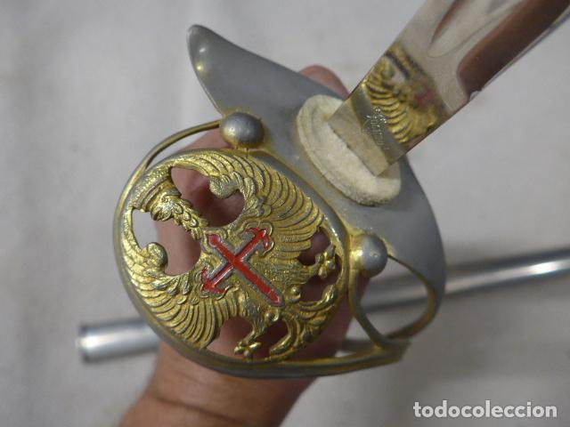 Militaria: Antigua espada modelo 1943 franquista, epoca de Franco, original. - Foto 2 - 293676088