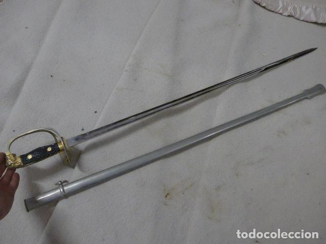 Militaria: Antigua espada modelo 1943 franquista, epoca de Franco, original. - Foto 8 - 293676088