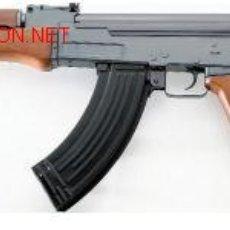 Militaria: FUSIL AIR SOFT ACCION ELECTRICA BOLAS CALIBRE 6 MM.AK47+BATERIA ¡¡OFERTA!!. Lote 51958772