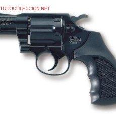 Military: REVOLVER DETONADOR UMAREX MODELO COLT DETECTIVE CALIBRE 9 MM. DOS PULGADAS . Lote 2964654