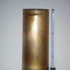 Militaria: VAINA DE LATÓN DE OBÚS DE 105 MM. LIGHT GUN, INERTE.. Lote 192933877
