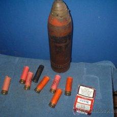 Militaria: CARTUCHOS DE CARTON ANTIGUOS.. Lote 48154226