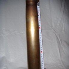 Militaria: VAINA DE LATÓN DE 40/70 M/M., INERTE. Lote 74496723