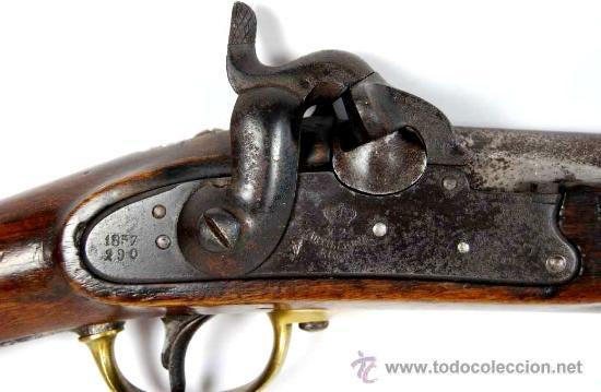 Militaria: Carabina M1857 de la Marina de Guerra Española - Foto 3 - 27141822