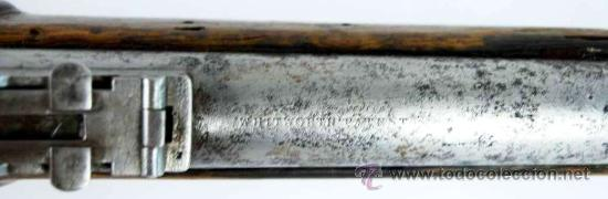 Militaria: Fusil Militar de Marina Inglesa Sistema Westley Richards & Co y Whitworth de 1867 - Foto 6 - 20292543