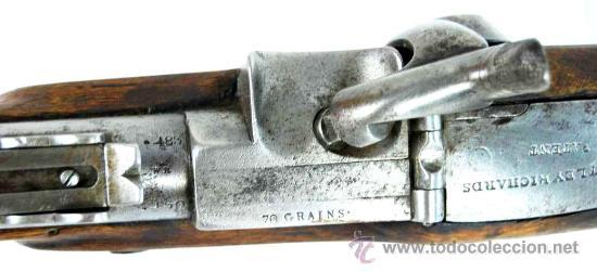 Militaria: Fusil Militar de Marina Inglesa Sistema Westley Richards & Co y Whitworth de 1867 - Foto 7 - 20292543