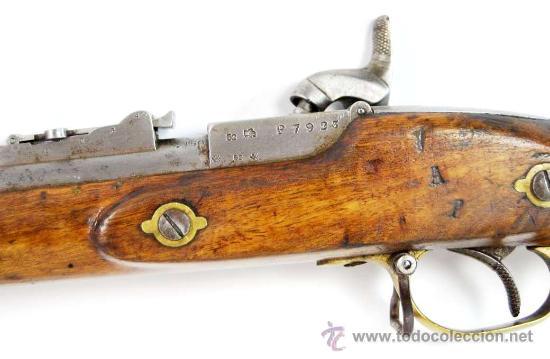 Militaria: Fusil Militar de Marina Inglesa Sistema Westley Richards & Co y Whitworth de 1867 - Foto 8 - 20292543