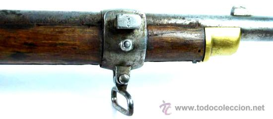 Militaria: Fusil Militar de Marina Inglesa Sistema Westley Richards & Co y Whitworth de 1867 - Foto 16 - 20292543