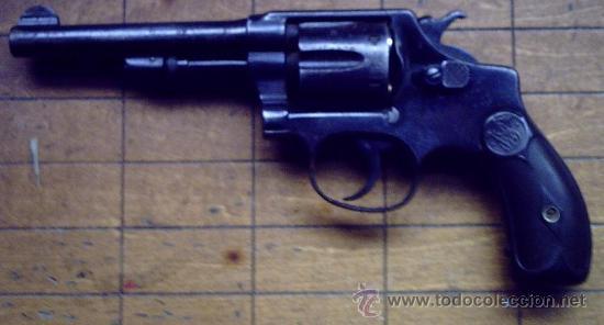 Revólver Smith & Wesson Modelo 1907/1917 Calibre 32 Largo