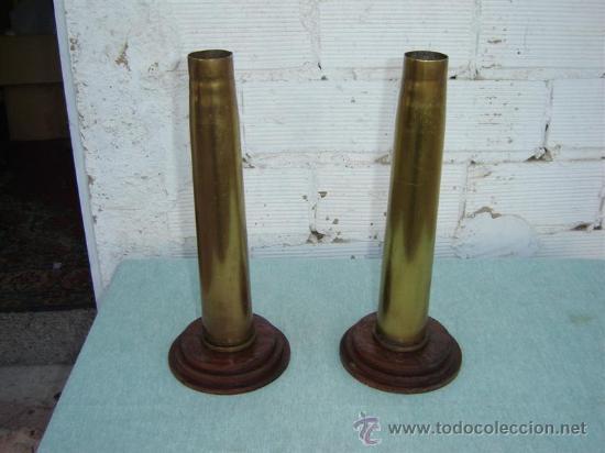 2 CASQUILLOS DE PROYACTIL (Militar - Cartuchería y Munición)