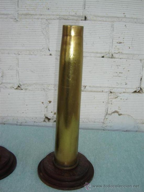 Militaria: 2 casquillos de proyactil - Foto 2 - 15781375