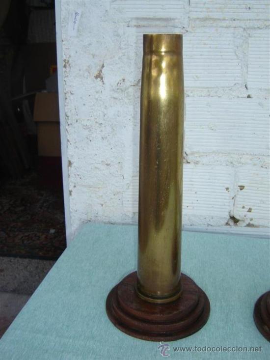 Militaria: 2 casquillos de proyactil - Foto 3 - 15781375