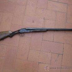 Militaria: ESCOPETA PARALELA DE PLATINA LARGA C 12 GASPAR ARZIAGA - EIBAR NUEVA. Lote 191667560