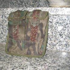 Militaria: CARTUCHERA DE CAMUFLAJE. DOBLE. Lote 22590415
