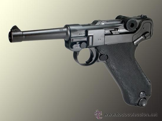 PISTOLA ALEMANA MODELO LUGER P8 PARABELLUM (Militar - Réplicas de Armas de Fuego y CO2 )