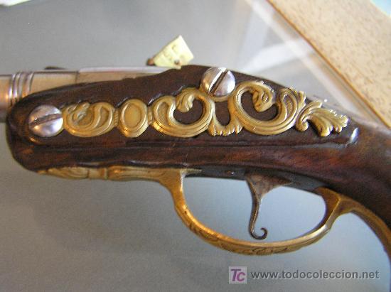 Militaria: Pareja de pistolas de chispa de 1740 originales dignas de museo - Foto 6 - 27519697