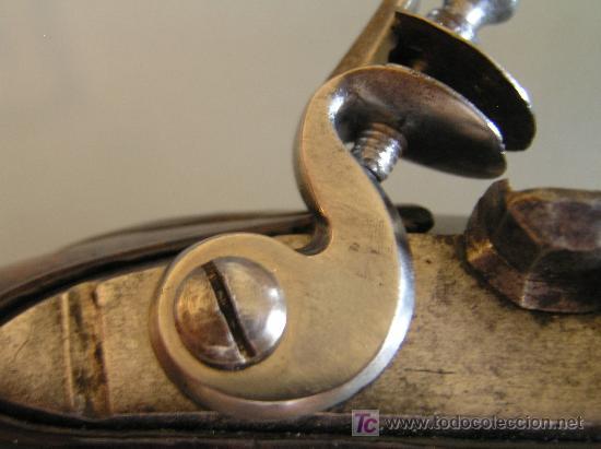 Militaria: Pareja de pistolas de chispa de 1740 originales dignas de museo - Foto 5 - 27519697