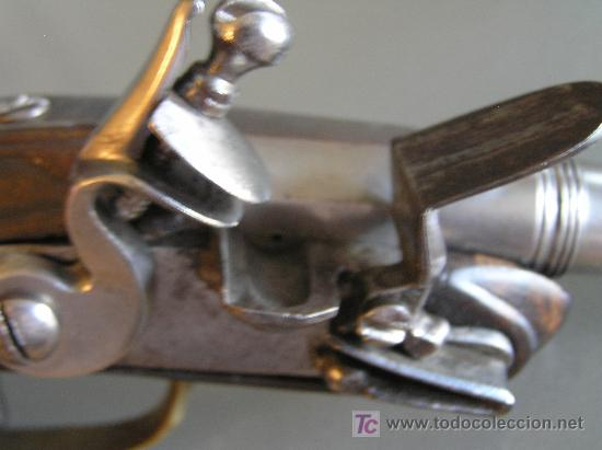 Militaria: Pareja de pistolas de chispa de 1740 originales dignas de museo - Foto 4 - 27519697