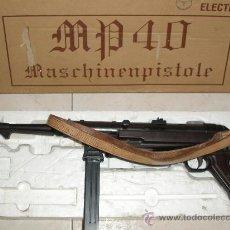 Militaria: MP40 (MASCHINENPISTOLE WH,LW)TOP MP -40 [ AIRSOFT ] PISTOLA ELÉCTRICA. FABRICANTE: TOP , JAPÓN. Lote 26436262