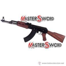 Militaria: FUSIL KALASHNIKOV RUSO AK47 EJERCITO ROJO. 87 CMS ** CULATA RIGIDA. Lote 172954613