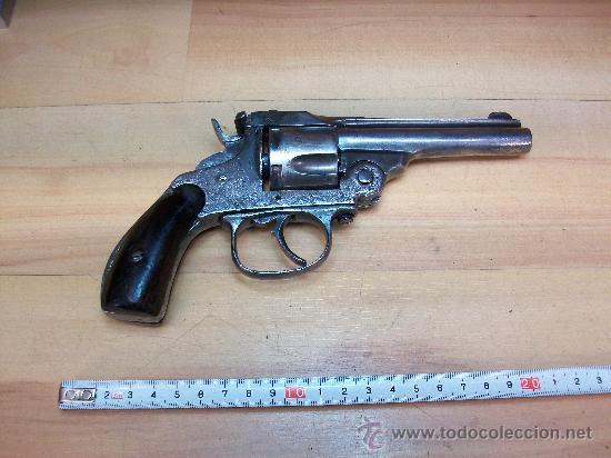 REVOLVER SMITH & WESSON. CAL.38 (Militar - Armas de Fuego en Uso)