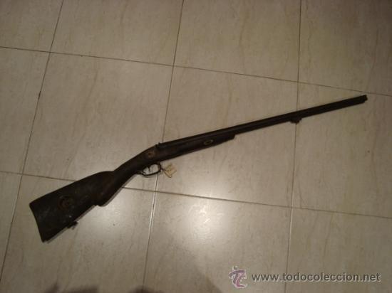 ESCOPETA DE 2 CAÑONES BELGA DE PISTÓN , SIGLO XIX INUTILIZADA (Militar - Armas de Fuego Inutilizadas)