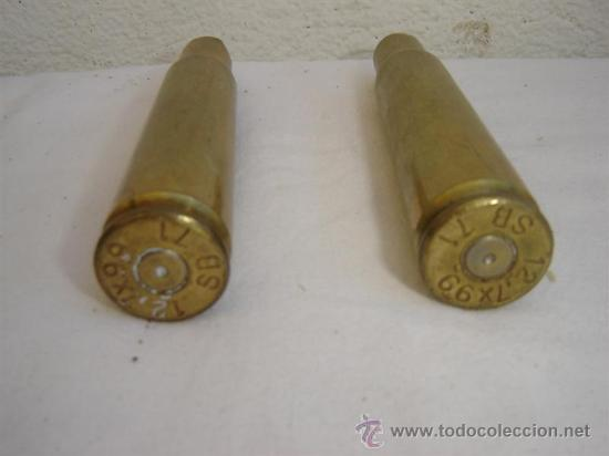 Militaria: 2 casqullos de proyectil - Foto 2 - 26556609