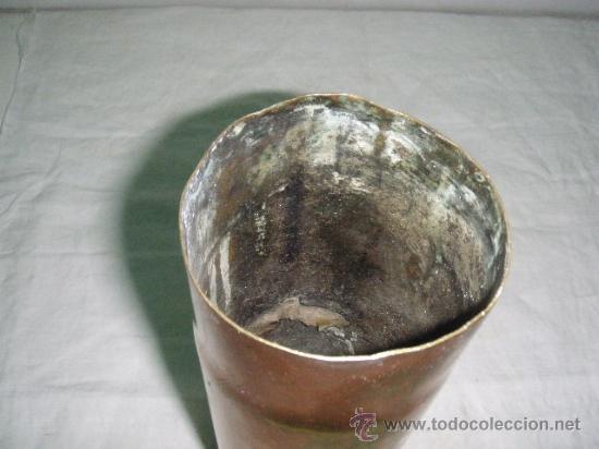 Militaria: VAINA DE MORTERO DE 26 CM. DE ALTO Y 8,5 CM. DIAMETRO - Foto 3 - 26902817