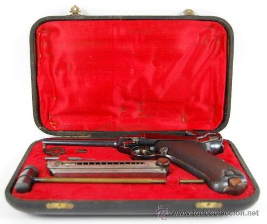 Militaria: Pistola Luger DWM M1900 Comercial en Estuche de Presentación con Accesorios - Foto 4 - 152653898