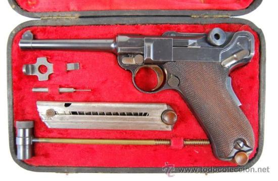 Militaria: Pistola Luger DWM M1900 Comercial en Estuche de Presentación con Accesorios - Foto 5 - 152653898