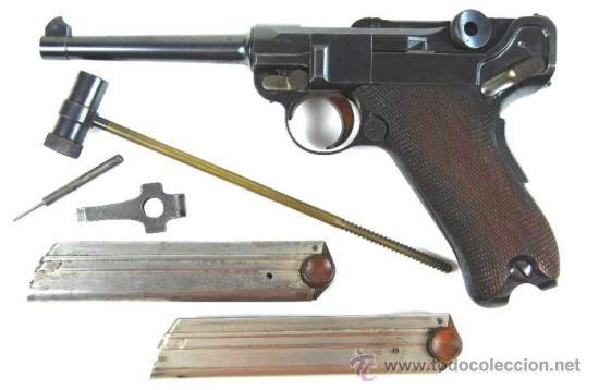 Militaria: Pistola Luger DWM M1900 Comercial en Estuche de Presentación con Accesorios - Foto 9 - 152653898