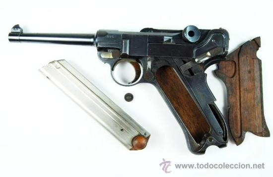 Militaria: Pistola Luger DWM M1900 Comercial en Estuche de Presentación con Accesorios - Foto 19 - 152653898