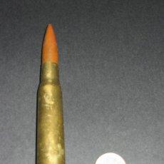 Militaria: CARTUCHO O BALA COMPLETA.12,7 X 99 SB 72 . INERTE,. Lote 134740819