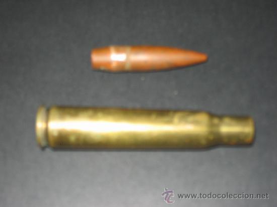 Militaria: Cartucho o bala completa.12,7 x 99 SB 72 . Inerte, - Foto 2 - 134740819