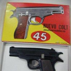 Militaria: ANTIGUA CAJA CON PISTOLA COLT 45 AUTOMATICO DE CEFA. Lote 95008026
